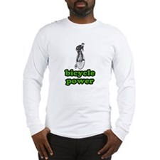 Bicycle Power Long Sleeve T-Shirt