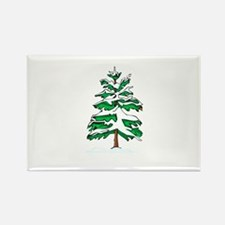 Yule Tree Rectangle Magnet