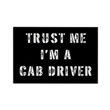 Cab Driver Gift Rectangle Magnet