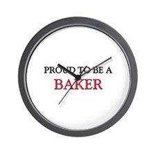 Proud to be a Baker Wall Clock