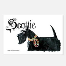 Scottish Terrier Gothic Postcards (Package of 8)