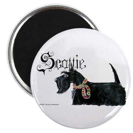 Scottish Terrier Gothic Magnet