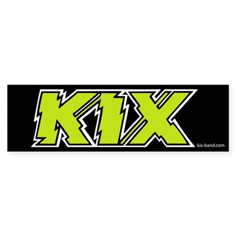 Kix Bumper Sticker