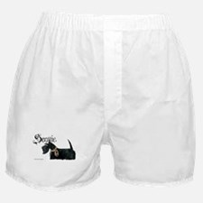 Scottish Terrier Gothic Boxer Shorts
