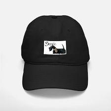 Scottish Terrier Gothic Baseball Hat