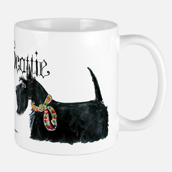 Scottish Terrier Gothic Mug