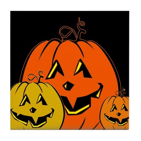 The Great Pumpkins Tile Coaster