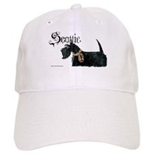 Scottish Terrier Gothic Baseball Cap