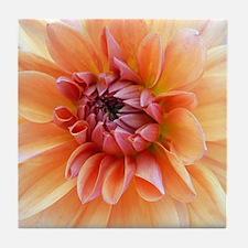 Happy Dahlia Art Tile