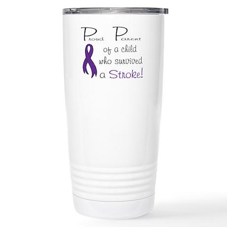 Proud Parent Stainless Steel Travel Mug