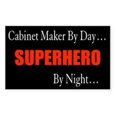 Cabinet Maker Gift Rectangle Decal