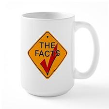 Check The Facts Gear Mug