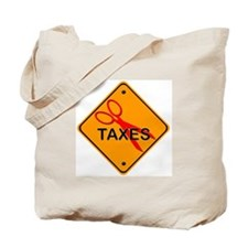 Cut Taxes Gear Tote Bag