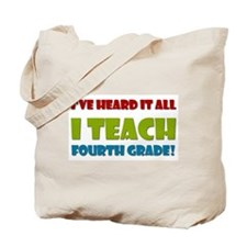 Fourth Grade Teacher Tote Bag