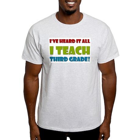 Third Grade Teacher Light T-Shirt