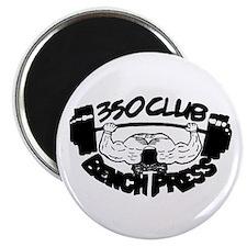 350 Club Bench Press Magnet