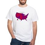 Purple America 2004 White T-Shirt