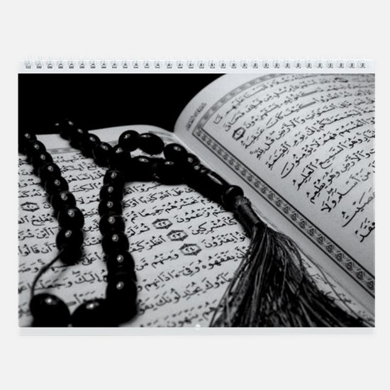 Cute Islamic Wall Calendar