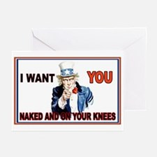 Uncle Sam Greeting Cards (Pk of 20)
