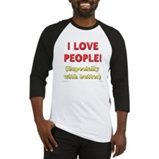 Love People / With Butter -  Baseball Jersey