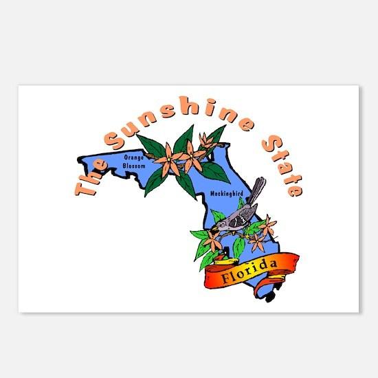 """Florida Pride"" Postcards (Package of 8)"