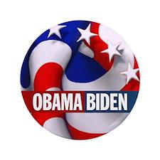 """OBAMA BIDEN 2012 3.5"""" Button"""