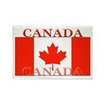 Canada Canadian Flag Rectangle Magnet (10 pack)