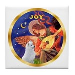 Angel3/Am Eskimo #3 Tile Coaster