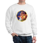 Angel3/Am Eskimo #3 Sweatshirt