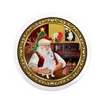 Santa's American Eskimo #5 3.5