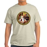 Santa's American Eskimo #5 Light T-Shirt