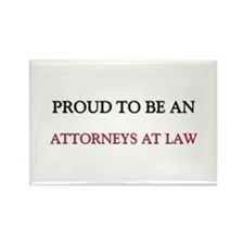 Proud To Be A ATTORNEYS AT LAW Rectangle Magnet