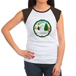 Take Off1/Am Eskimo #5 Women's Cap Sleeve T-Shirt