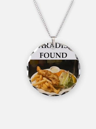 Seafood joke Necklace