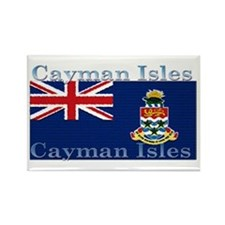 Cayman Islands Rectangle Magnet