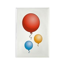 Party Balloons Rectangle Magnet