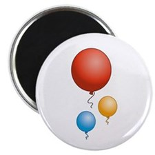 Party Balloons Magnet