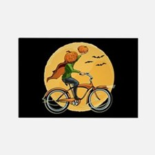 Pumpkin Delivery Rectangle Magnet