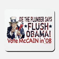 Flush Obama says Joe Mousepad