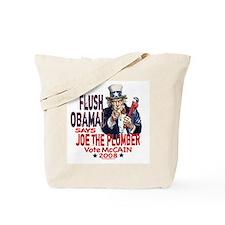 Flush Obama says Joe Tote Bag