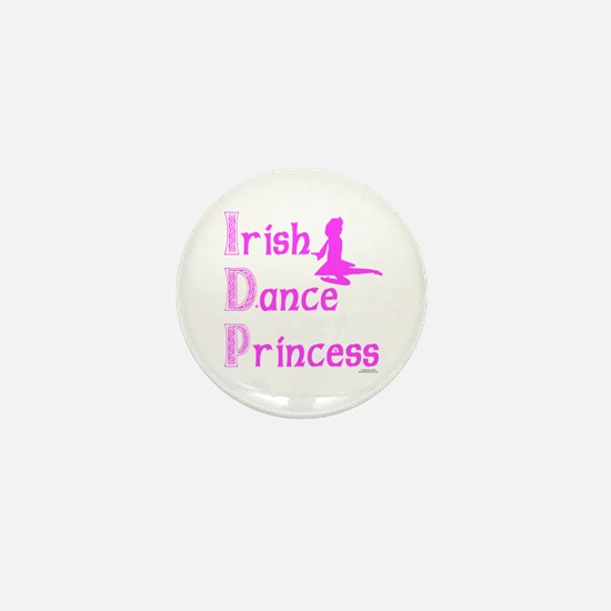 Irish Dance Princess - Mini Button