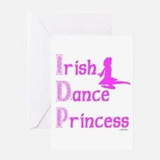Irish Dance Princess - Greeting Card