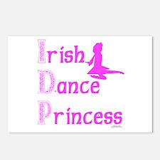 Irish Dance Princess - Postcards (Package of 8)
