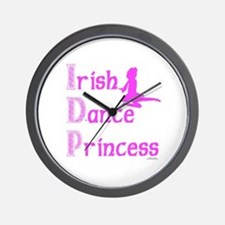 Irish Dance Princess - Wall Clock