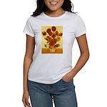 Van Gogh Sunflowers Women's T-Shirt