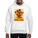 Van Gogh Sunflowers Hooded Sweatshirt