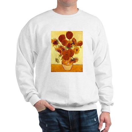Van Gogh Sunflowers Sweatshirt