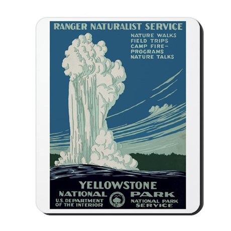 Yellowstone Park Mousepad