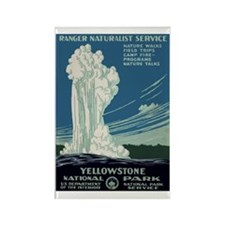 Yellowstone Park Rectangle Magnet (10 pack)