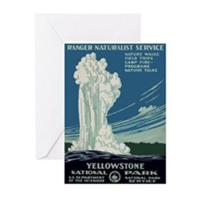 Yellowstone Park Greeting Cards (Pk of 10)
